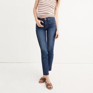 EUC 27 Madewell Slim Straight Jeans, William Wash
